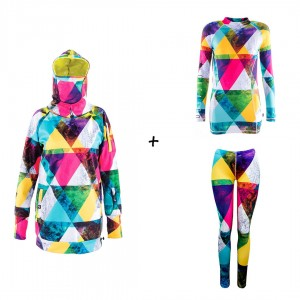 Promo set for women - Lunatic - jacket + thermal base layers