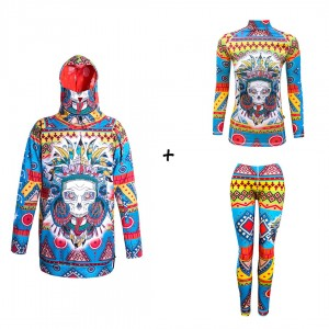 Promo set for women - Mad Shaman - jacket + thermal base layers