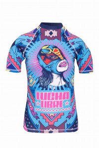 Lucha Libre lycra / rash guard top GAGABOO